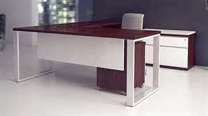 Desks Modern Modern At Two L Shaped Desk Pedestal Credenza Biedermeier Cherry Zuri Furniture