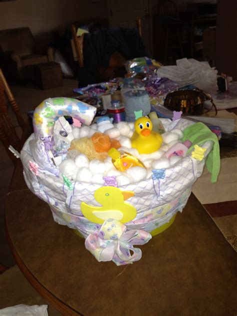 diaper cake bathtub bathtub diaper cake gender neutral diaper cakes pinterest