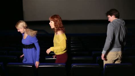 film get up and go four people in dark hall cinema get up and go after the