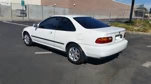 ca 1995 honda civic ex white all original clean title