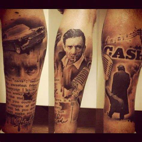johnny cash tattoo 72 johnny ideas gallery golfian