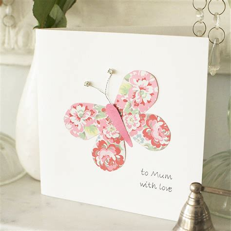 make mothers day cards beautiful butterfly s day card step by