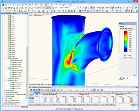 stress analysis dlubal software