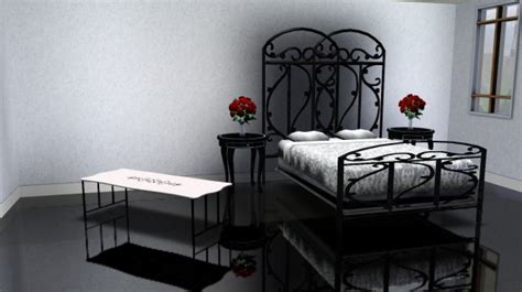 infabbrica ethos wrought iron bed with tufted headboard fantastically hot wrought iron bedroom furniture dream