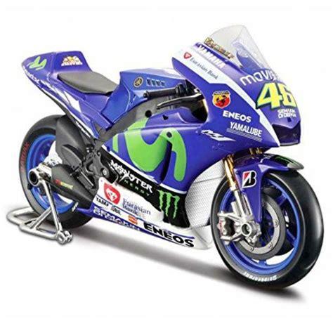 Diecast Motor Motogp Minichs Valentino 2001 Original maisto yamaha motogp15 no 46 valentino 1 18
