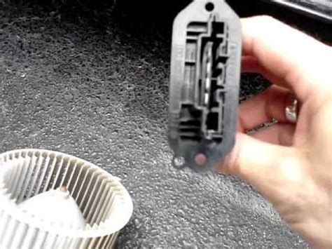 replace blower motor resistor mazda 3 how to remove mazda 3 blower motor and resistor explained