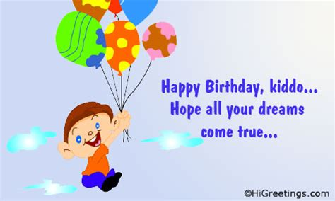 Family Happy Birthday Wishes Send Ecards Family Wishes Happy Birthday Kiddo