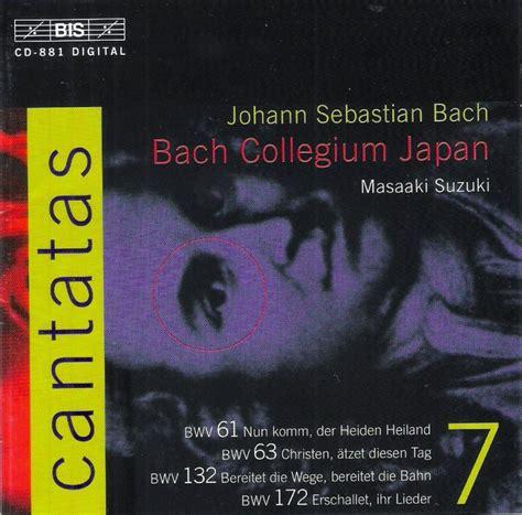 Bach Cantatas Suzuki Masaaki Suzuki Bach Cantatas Other Vocal Works
