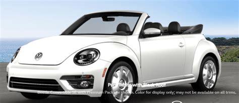 color options    vw beetle convertible