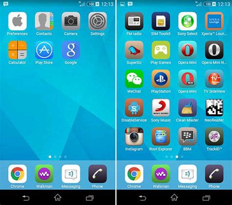 iphone apk iphone launchers and themes apk for android apkliving