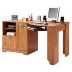 Office Depot Desks On Sale Realspace Magellan Collection Corner Desk 30 Quot H X 59 1 2 Quot W X 39 Quot D Honey Maple At Office Depot