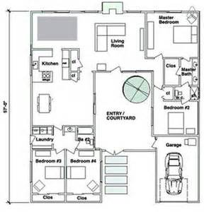 central courtyard house plans u shaped house plans with central courtyard google search house ideas pinterest house