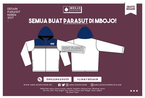desain sablon jaket keren desain jaket parasut kelas keren sman 1 padang