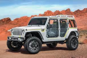 Safari Jeeps 2017 Jeep Concepts At The Easter Jeep Safari In Moab