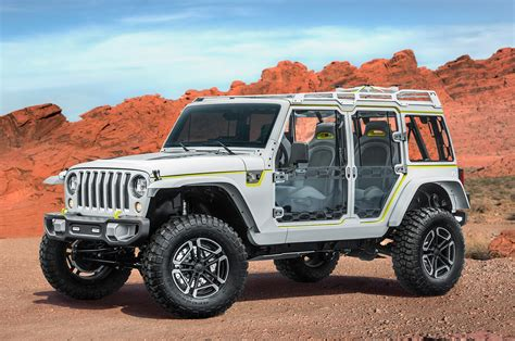 2017 Jeep Concepts At The Easter Jeep Safari In Moab