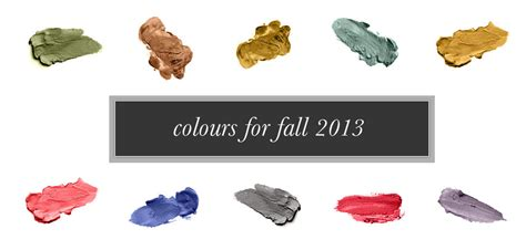 fall 2012 color trends fashionising spring fall 2013 colour trends xposure modeling