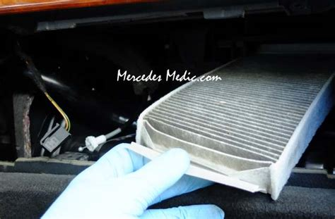 When To Replace Cabin Air Filter by How To Change Replace Cabin Air Filter S Class W220 Mb Medic