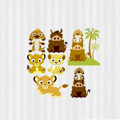 Simba Baby Shower by Beb 233 Le 243 N Clip Svg Baby King Le 243 N Baby