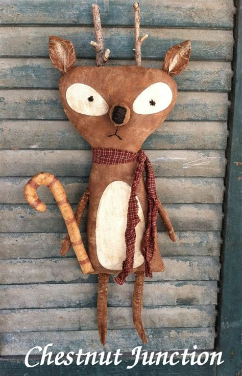 Hoodie Primitive Leo Cloth 1 rocko reindeer epattern primitive country