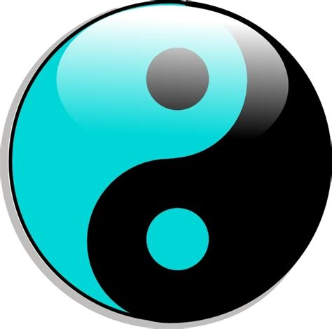 yin  clip art  vector  open office drawing svg
