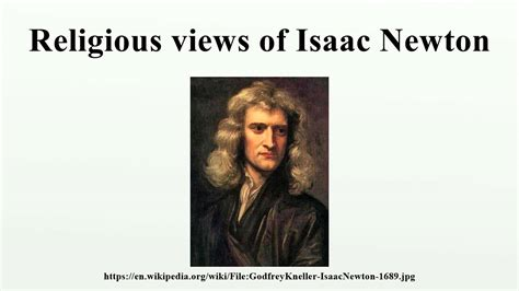 isaac newton calculus biography religious views of isaac newton youtube