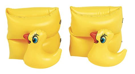 arm floats for set of 2 yellow duckie swimming pool arm
