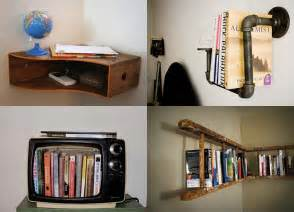 Creative Bookshelves Diy Make A Creative And Unique Bookshelf By Your Own