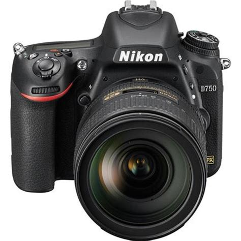nikon d750 dslr camera with af s nikkor 24 120mm f/4g ed