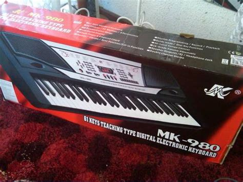 Keyboard Mk 980 piano organ mk 980 61 teaching type digital electronic keyboard was listed for r530 00