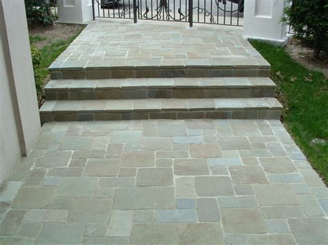 pennsylvania bluestone tumbled bluestone pavers dzuls