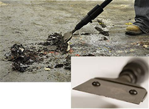 surface preparation tools scabblers scarifiers scalers