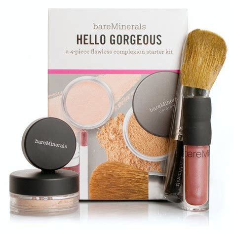 Flawless Skin With Bare Minerals Bglam by Bare Minerals Hello Gorgeous Collection In Fairly Light Is