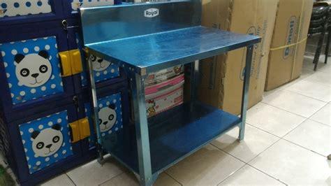 Mainan Anak Kitchen Chair Masak Masakan Dapur Komp Harga Pabrik jual table stainless kitchen set dapur meja cafe stainless rak kompor sejahterameubel