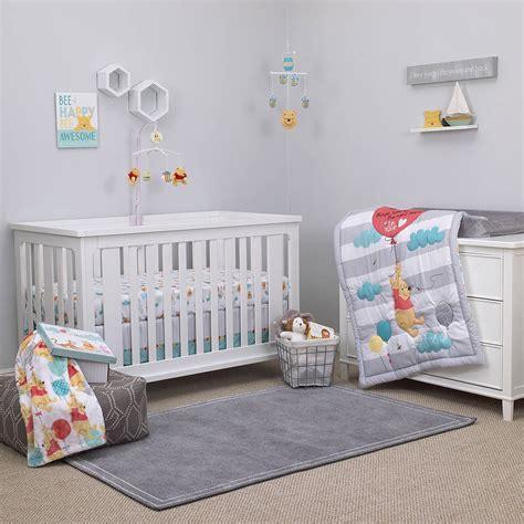 winnie the pooh nursery bedding sets disney winnie the pooh crib bedding set 187 petagadget