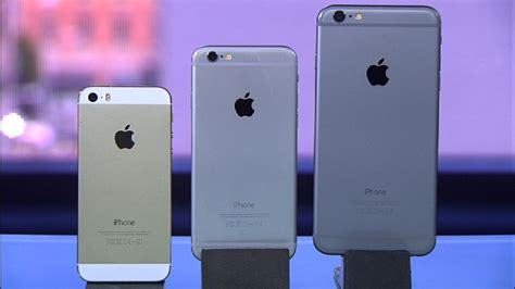 frente a frente iphone 6 plus iphone 6 y el iphone 5s cnet en espa 241 ol