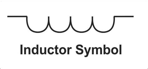 electrical symbol for inductor schematic symbols coil images