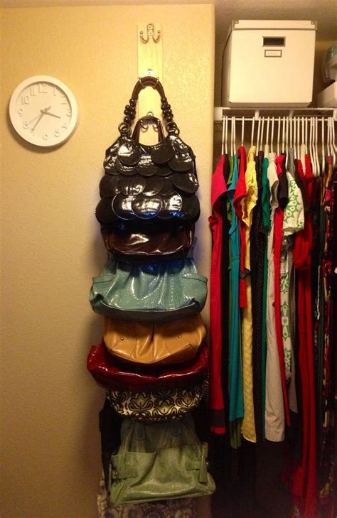 Closet Purse Organizer Ideas by 10 Diy Projects For Girls Rooms Pretty Designs