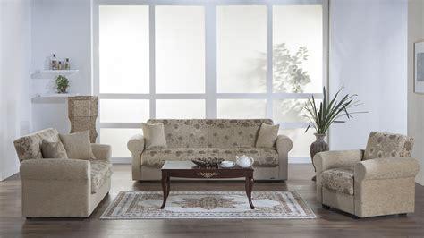 Living Room Sofa Bed Sets by Elita Sofa Bed Living Room Set In Yasemin Beige