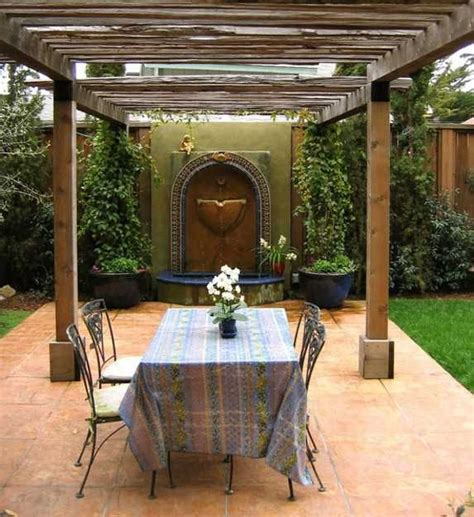 tuscan inspired backyards beautiful landscaping ideas and backyard designs in spanish and italian styles wall fountains