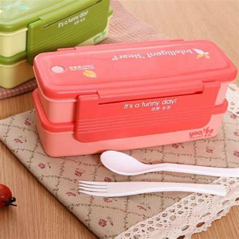 Box Bento Microwave 1 Wrna Promosi microwave food thermos bento food container tableware japanese bento box decker