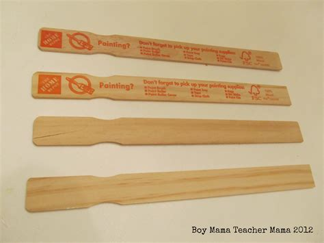 home depot paint sticks 7 uses for paint mixing sticks in the