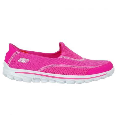 Skechers Gowalk2 skechers s go walk 2 pink