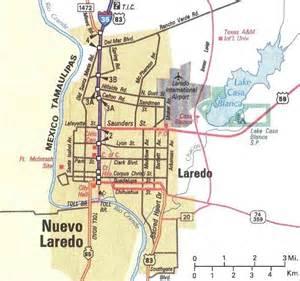 laredo on map downtown laredo map laredo mappery
