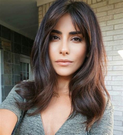 best 25 middle part bangs ideas on pinterest best 25 parted bangs ideas on pinterest middle parting