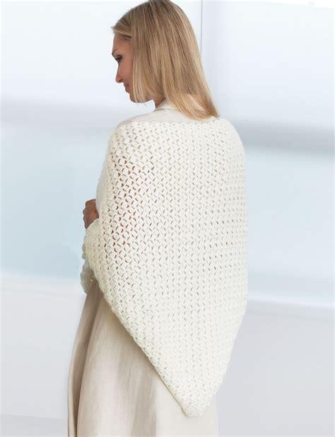 easy prayer shawl crochet pattern yarnspirations com patons ridged cap patterns