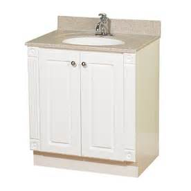 White Vanity At Lowes Shop Magick Woods 30 Quot White Premiere Traditional Bath
