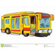 Bus De Dessin Anim&233 Illustration Stock Image Du Mod&232le