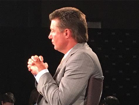 okc hair show big 12 media days what s being said about mike gundy s