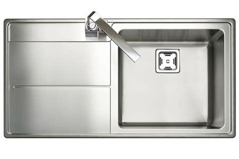 Square Kitchen Sink With Drainer Rangemaster Arlington Square Kitchen Sink Single Bowl Lh Drainer