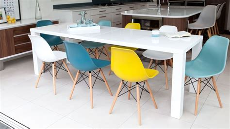 Headland Range Style Dining Chairs Large White Gloss And Eames Extending Dining Set Eames Dsw Chairs Assortments Pinterest